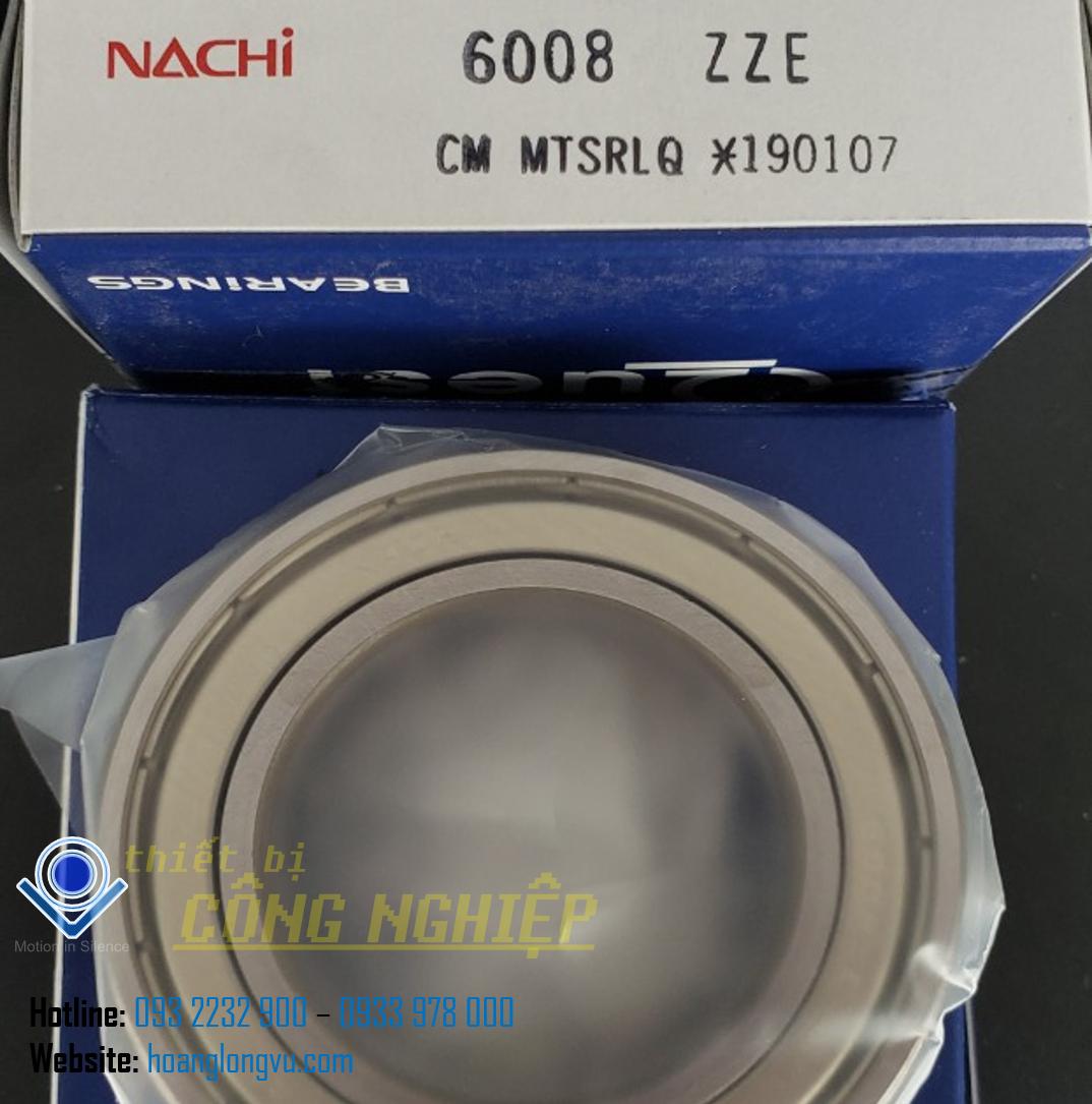 Vòng bi NACHI 6008ZZECM