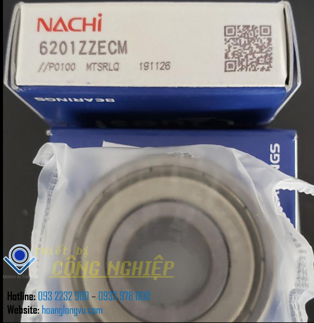Vòng bi NACHI 6201ZZECM