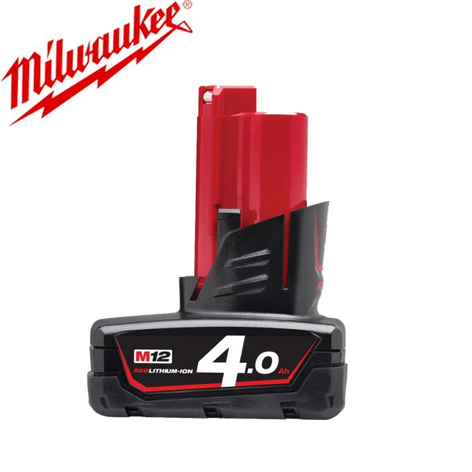 Pin Milwaukee M12B4 12V 4.0Ah