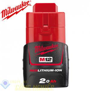 Pin 12V 2.0Ah M12B2 Milwaukee