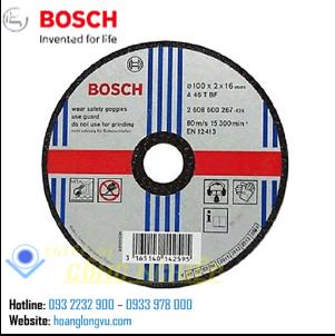 Đá cắt sắt bosch 2608600267 (100×2.0x16mm)