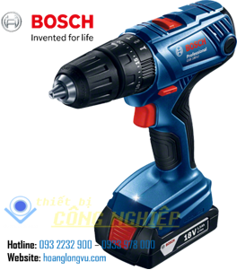 Máy Khoan Bắt Vít BOSCH GSB 180-LI (Hộp công cụ, set 41 món AC)