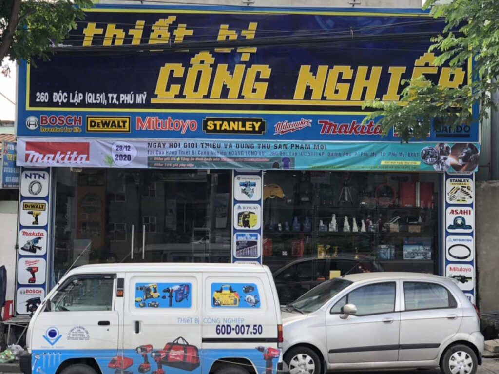 Cửa hàng TBCN Hoàng Long Vũ chi nhánh Bà Rịa Vũng Tàu