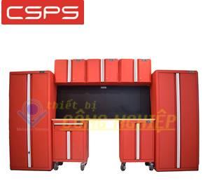 Bộ 8 tủ đựng đồ nghề cơ khí CSPS 335cm VNGS3352BB1