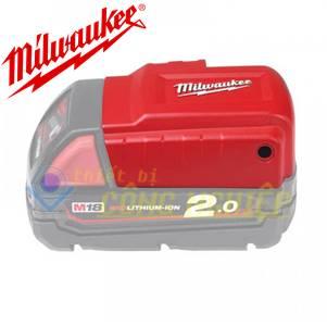 Bộ chuyển đổi nguồn đầu cắm USB Milwaukee M18 USB PS HJ2
