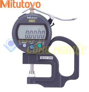 Đồng hồ đo độ dày điện tử 10mm Mitutoyo 547-300S