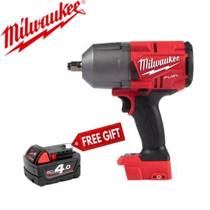 Máy siết bu lông dùng pin không chổi than Milwaukee M18 FHIWF12-0X