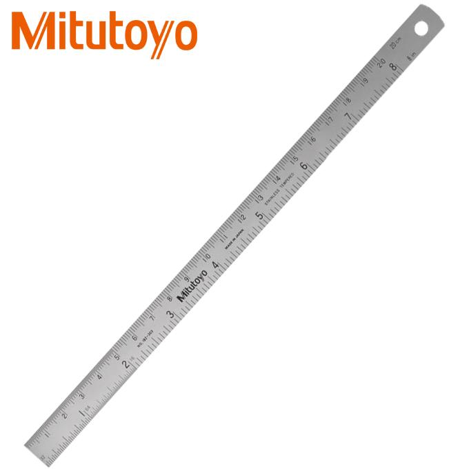Thước lá thép Mitutoyo 182-303 200mm/8″