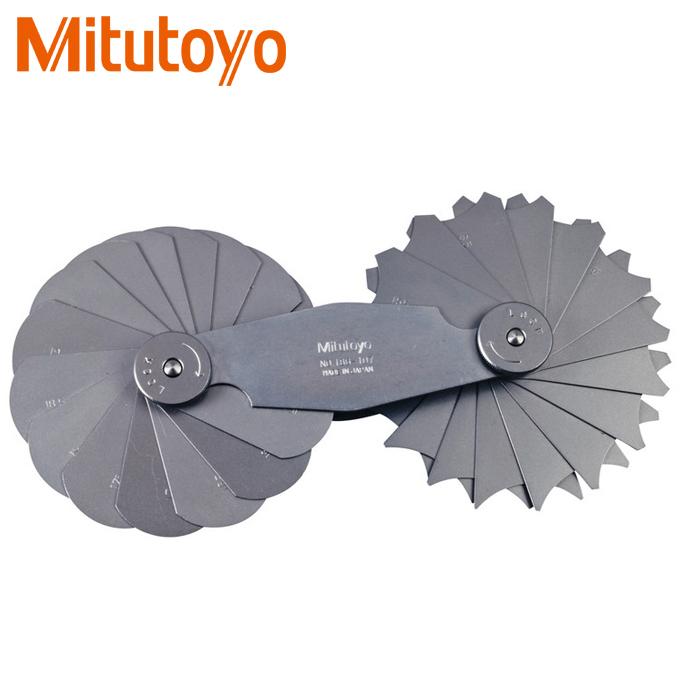Thước đo bán kính 30 lá Mitutoyo 186-107 (15.5-25mm)