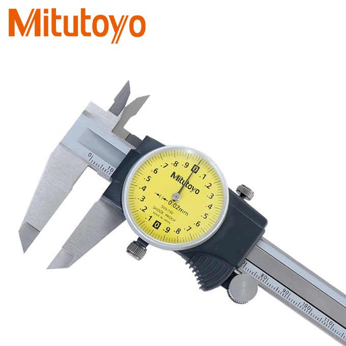 Thước kẹp đồng hồ Mitutoyo 505-730 (150mm/0.02mm)