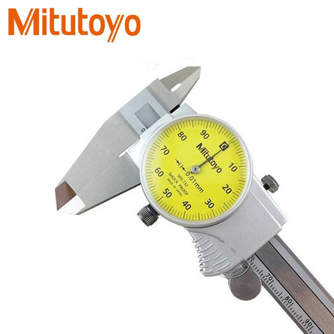Thước cặp đồng hồ Mitutoyo 505-732 (150mm x 0.01mm)