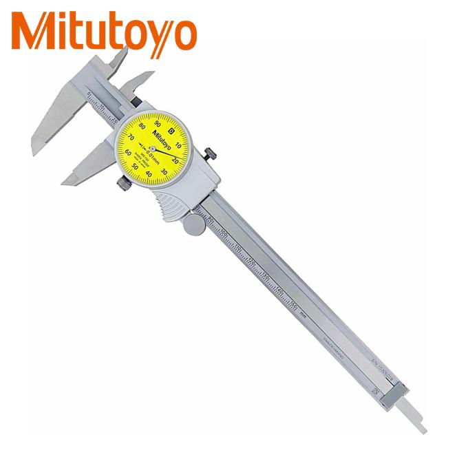 Thước cặp đồng hồ Mitutoyo 505-733 (200mmx0.01mm)