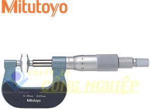 Panme đo ngoài 0-25mm Mitutoyo 169-201