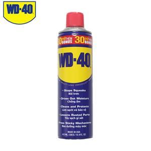 Dầu chống rỉ sét, bôi trơn đa năng WD-40 412ml
