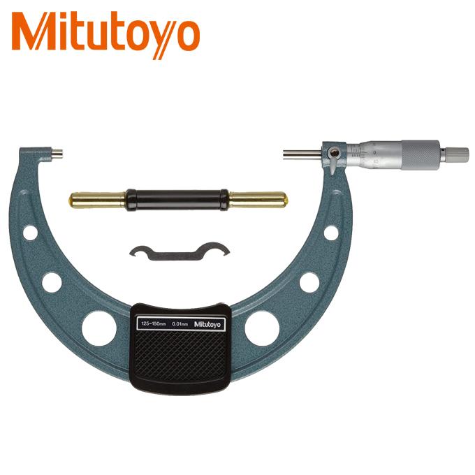 Panme đo ngoài cơ khí Mitutoyo 103-142-10 (125-150mmx0.01)