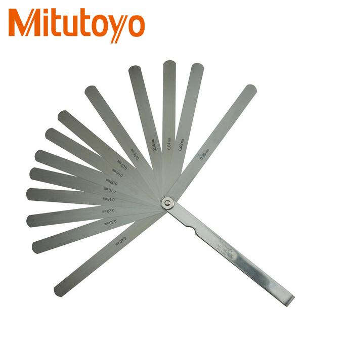 Dưỡng đo độ dày Mitutoyo 184-302S 0.03-0.5mm/13 lá/150mm