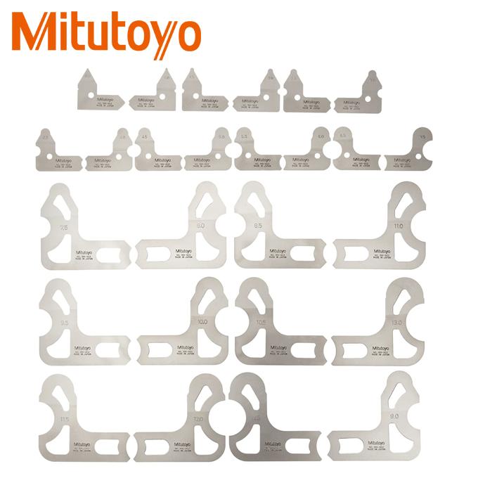 Thước đo bán kính 26 lá Mitutoyo 186-902 (0.5-13mm)