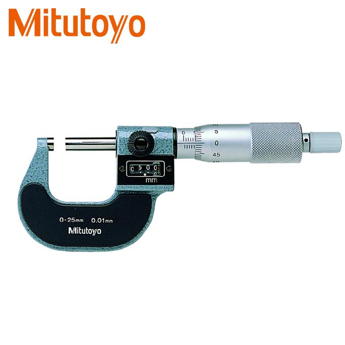 Panme đo ngoài Mitutoyo 193-101 hiển thị số (0-25mm x 0.01)