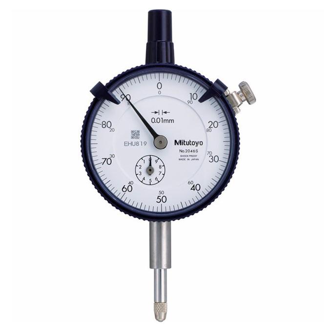 Đồng hồ so cơ khí tiêu chuẩn MITUTOYO 2046SB (10mmx0.01mm)