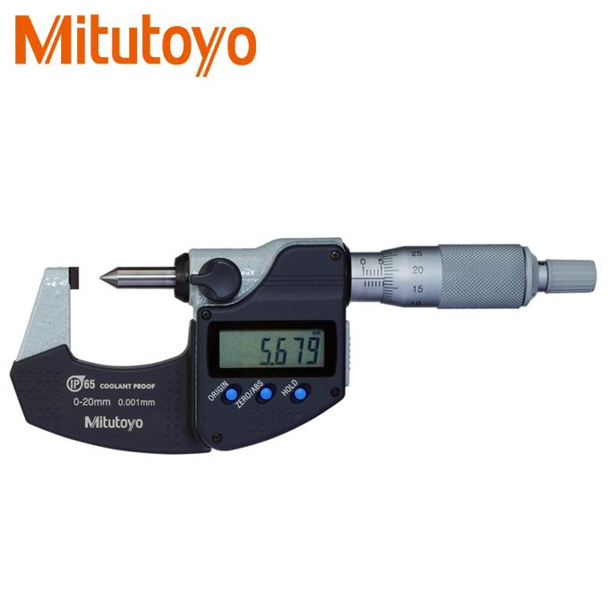 Panme đo ngoài điện tử Mitutoyo 342-271-30 đầu nhọn 0-20mm