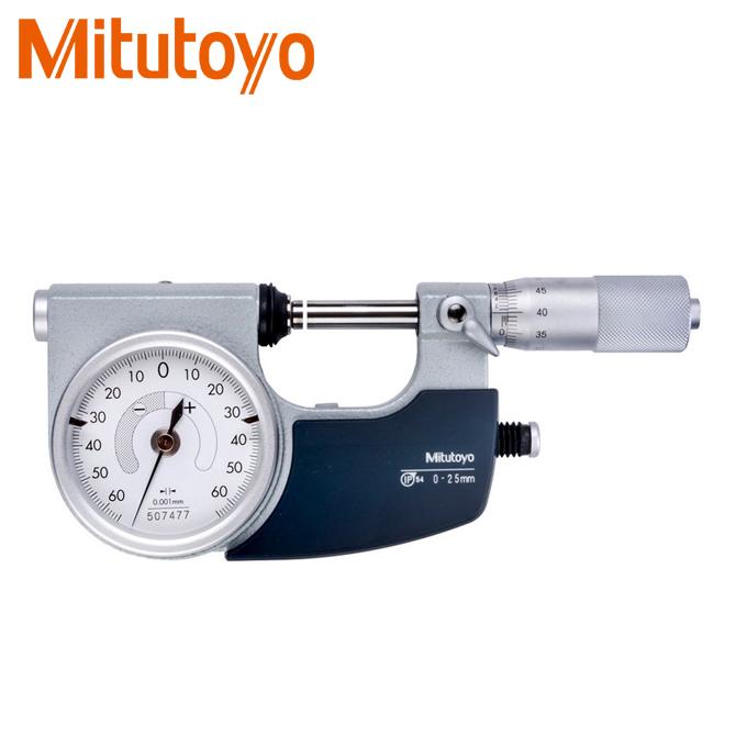 Panme đo ngoài đồng hồ Mitutoyo 510-121 (0-25mm)