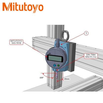 Đồng hồ so điện tử Mitutoyo 543-781B