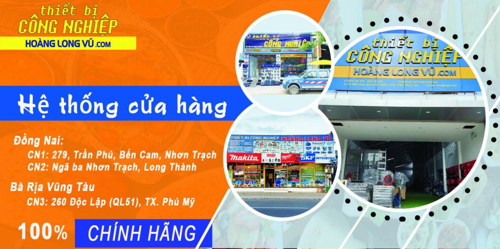 Hệ thống các cửa hàng Công ty TBCN Hoàng Long Vũ