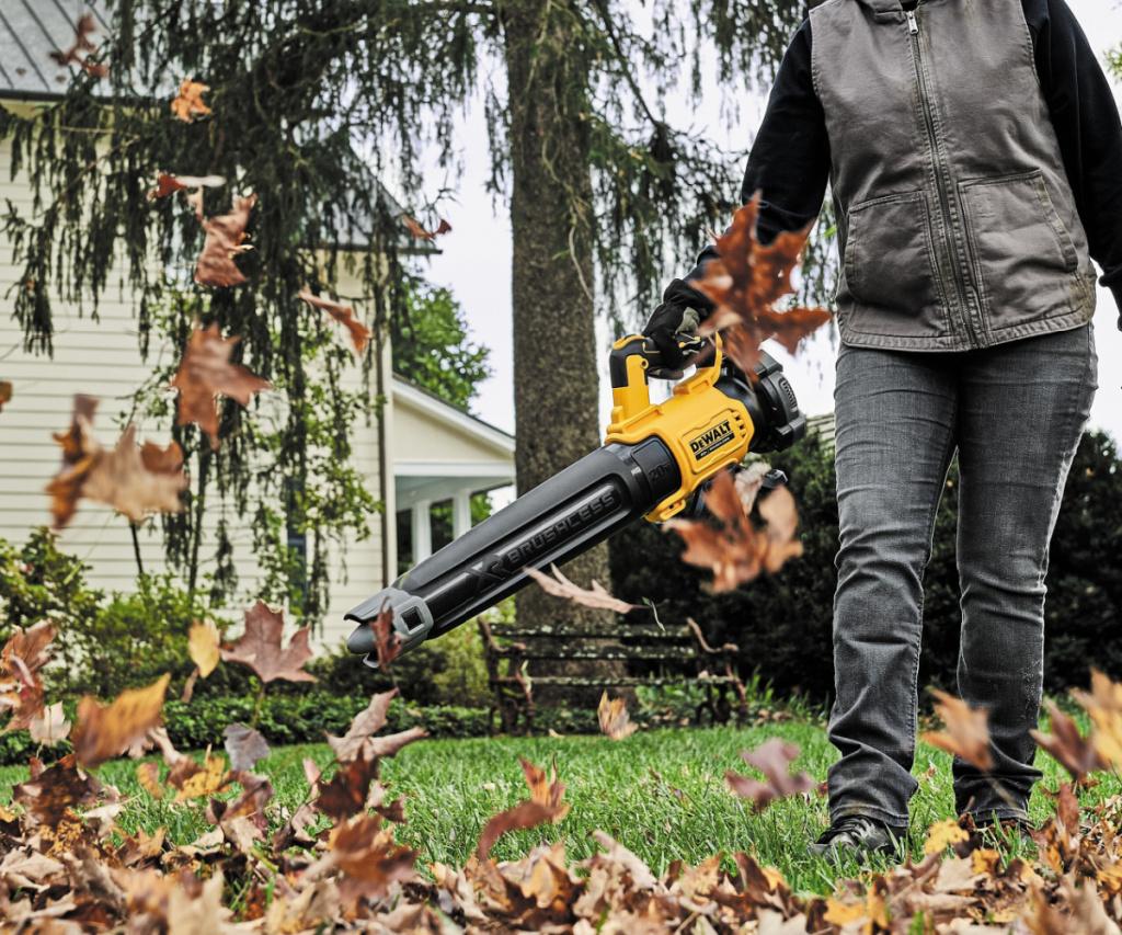 dewalt leaf blower