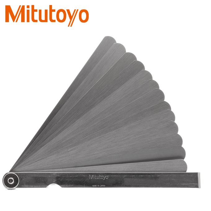 Dưỡng đo độ dày Mitutoyo 184-301S 0.05-1mm/13 lá/150mm