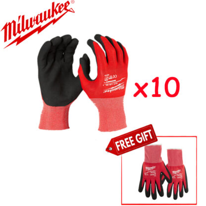 găng tay chống cắt cấp độ 1